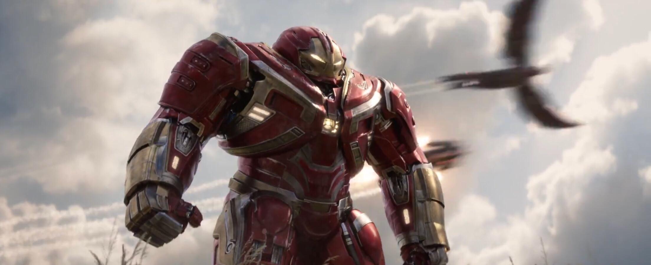 hulkbuster in avengers infinity war