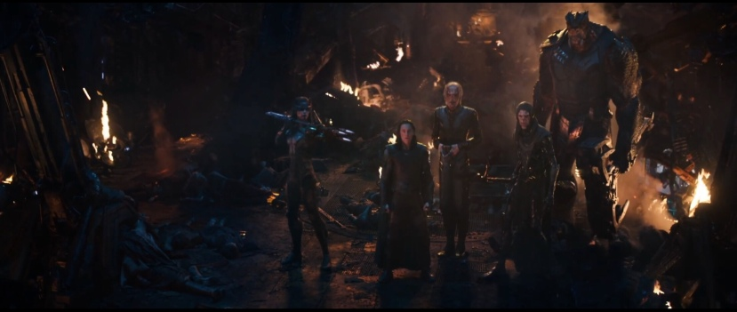the black order in avengers infinity war
