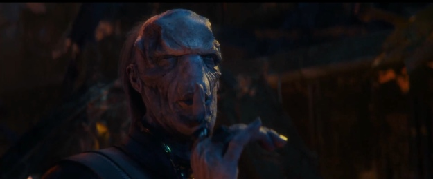 ebony maw in avengers infinity war
