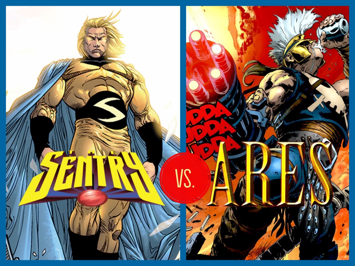 Ares: The God of War vs. Sentry: The Golden Guardian (Siege)