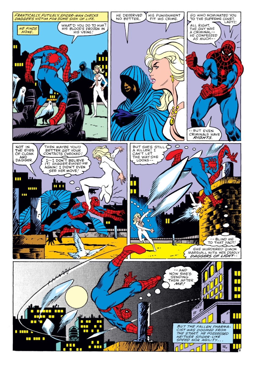 Cloak and Dagger Spectacular Spider-Man