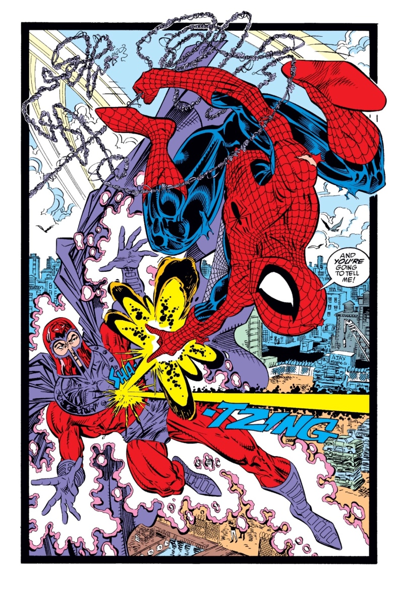 Cosmic Powered Amazing Spider-Man vs. Magneto (The Amazing Spider-Man #327, 1989)