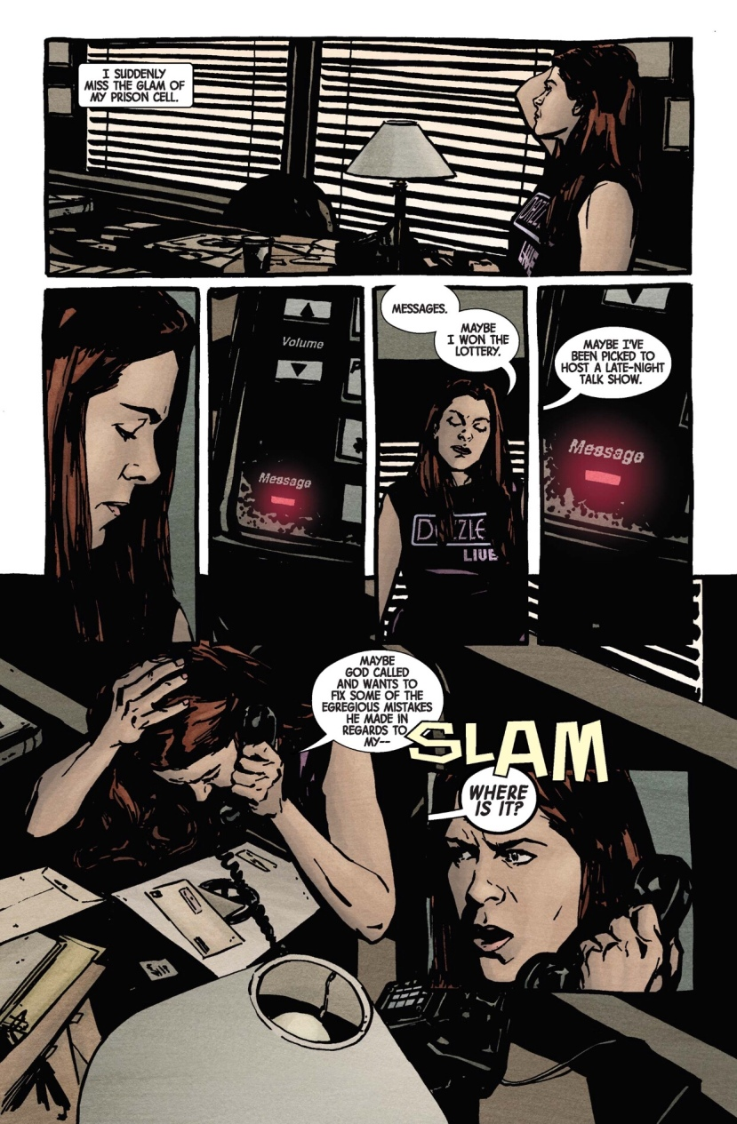 Jessica Jones meets Misty Knight