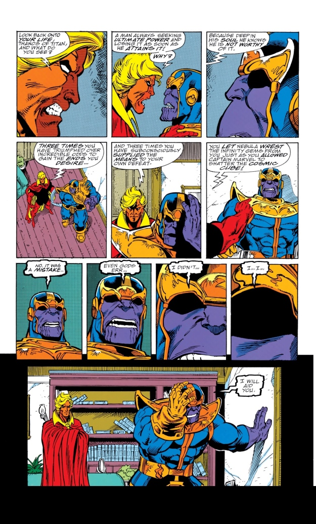 Avengers Infinity War Thanos Infinity Gauntlet Why Thanos won't win