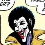 the joker with an afro the joker driven sane